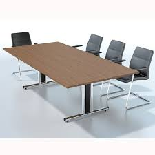 Rectangular Boardroom Table Rectangular Boardroom Table With Mfc Finish Wooden Meeting Room