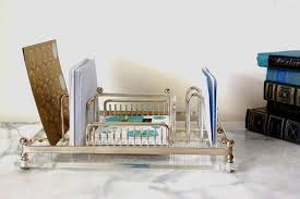 Organizer Desk Monogrammed Acrylic Desk Accessories U2014 All Home Ideas And Decor