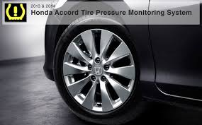 2013 2014 honda accord tpms system how to recalibrate
