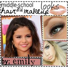 school for makeup middle school hair makeup polyvore
