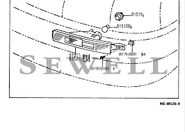 lexus nx omaha 1994 ls400 i need instructions on how to change the front turn