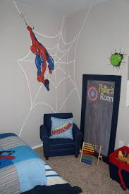 pottery barn kids spiderman wall decal i painted the web behind pottery barn kids spiderman wall decal i painted the web behind it and my husband