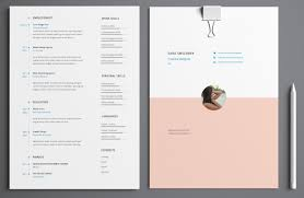 Eye Catching Resume Templates The One Color Rsum 25 Best Ideas About Resume Templates On