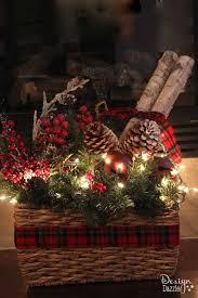 Hard Plastic Christmas Decorations Outdoors Best 25 Tartan Christmas Ideas On Pinterest Christmas