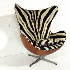 zebra swivel chair chair love zebra arne jacobsen egg chair the english room