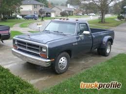 dodge ram 89 1989 dodge ram 3500 truck profile