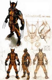 astonishing x men wolverine sketches by simone bianchi superheroe