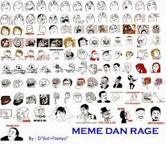 Meme Rege - meme dan rage comic comedy modern masa kini d gal poenya