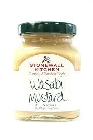 wasabi mustard stonewall kitchen wasabi mustard countrymercantile
