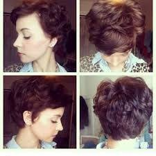 short wavy pixie hair image result for permed pixie cut short haircuts pinterest