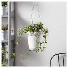 Hanging Plant Skurar Hanging Planter In Outdoor Off White 12 Cm Ikea