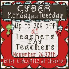 black friday deals for teachers cyber monday sale at teachers pay teachers