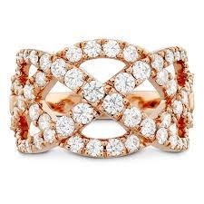 right ring intertwining diamond right ring