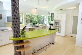 custom built kitchen island kitchens custom built kitchen island with glossy green counter