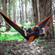 winner outfitters double camping hammock amazon com double camping hammock with multi loops tree straps