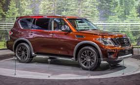 nissan suv 2016 price 2017 nissan armada photos and info u2013 news u2013 car and driver