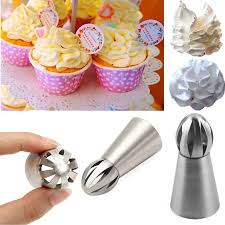 Cookie Decorating Kits Meigar 1pcs Russian Cake Ball Icing Decorating Supplies Tips Decor