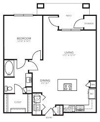 one bedroom floor plan apartments for rent with washer dryer hookups apartments with