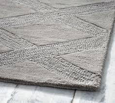 What Is A Tufted Rug Chase Tufted Rug Gray Pottery Barn