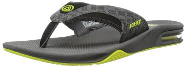 mens reef fanning flip flops sale reef rover low premium shoes reef men s fanning flip flop grey