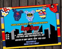 marvel baby shower baby shower invitation printable invite card