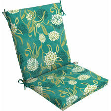 mainstays outdoor dining chair cushion snowball floral walmart com