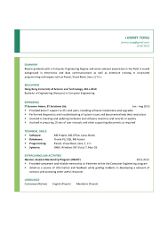 Relevant Experience Resume Sample by 100 Systems Engineer Resume Examples Employee Relations