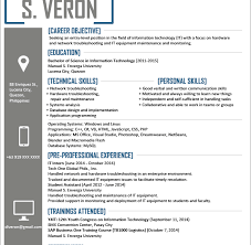 it resume template haadyaooverbayresort com