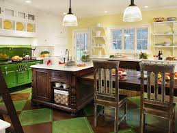 green and kitchen ideas kitchen table design decorating ideas hgtv pictures hgtv