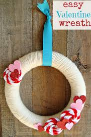 25 diy valentine u0027s day wreaths homemade door decorations for