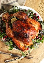 citrus and herb butter roasted turkey recipe turkey recipes
