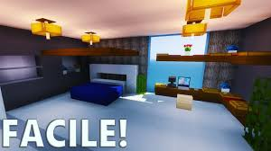 chambre minecraft tuto chambre moderne ultra réaliste minecraft