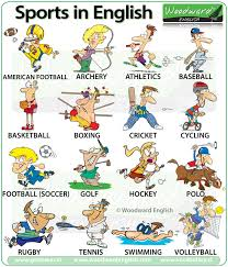 sports english vocabulary play do or go sport vocabulario
