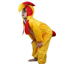Rooster Halloween Costume Lucky Rooster Cosplay Costume Yellow Animal Onesie Jumpsuit