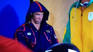 Angry Face Memes - michael phelps angry game face at the olympics goes viral see