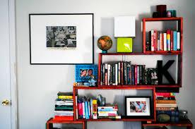 decordots scandinavian interiors colorful living room books