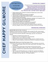 Chef Sample Resume by Professional Chef Sample Resume Sony Game Tester Cover Letter