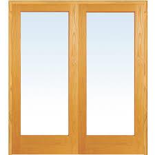 home depot doors interior wood mmi door 61 5 in x 81 75 in clear glass 1 lite