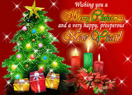 wishing you a merry and a happy prosperous new year