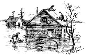the project gutenberg ebook of the great round world april 22 the mississippi flood a typical scene