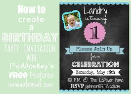 create invitations how to create an invitation in picmonkey