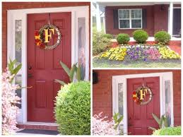 can a red front door work with this color brick hometalk