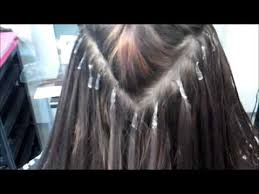 bonding extensions learn how to apply pre bonded hair extensions