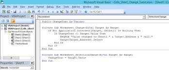excel detecting and keeping track of value changes in any
