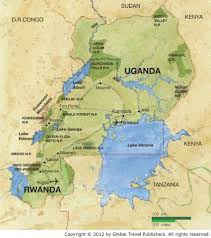 Map Of Uganda Uganda Mobile