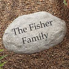 personalized garden stones personalized decorative garden stones large gifts