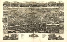 hotels olean ny historical map of olean ny 1882