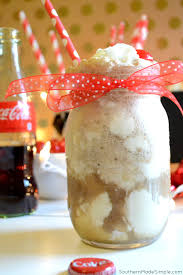 Eggnog And Southern Comfort Eggnog Ice Cream Coca Cola Floats Southern Made Simple