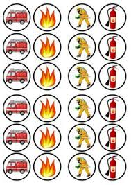 firefighter cupcake toppers 24 x fireman sam edible cupcake toppers pre cut fireman sam