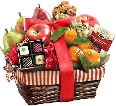 fruit gift basket farmstyle christmas fruit gift basket